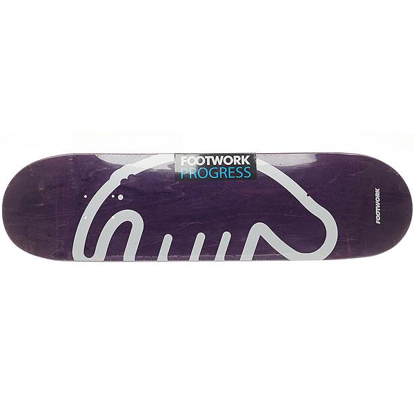 Дека для скейтборда для скейтборда Footwork Progress Footwork X Anteater Violet 32.1 x 8.375 (21.3 см) дека для скейтборда для скейтборда almost s6 impact plus youness junk on my prick 31 7 x 8 25 21 см