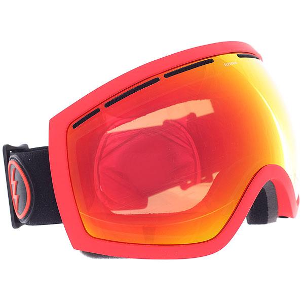 Маска для сноуборда Electric Eg2 Black/Red/Brose/Red Chrome