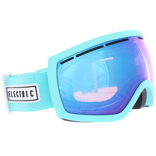 Маска для сноуборда Electric Eg2.5 Turquoise/Pink Palms/Brose/Blue ChromeМаска EG2.5 является копией маски EG2 и создана специально для райдеров с меньшим размером головы. Функционал тот же - четкая и контрастная картинка без бликов и искажений в любые погодные условия. Благодаря двойной линзе и продуманной системе вентиляции маска не будет запотевать, а большой размер линзы и уменьшенная оправа обеспечат максимальный угол обзора. Трехслойный вспененный материал с антибактериальным флисовым покрытием обеспечит комфортную посадку, а силиконовые вставки помогут избежать соскальзывание. Характеристики:100% защита от ультрафиолета (UV). Двойные сферические поликарбонатные линзы, крупного размера. Покрытие, устойчивое к образованию царапин. Покрытие, устойчивое к запотеванию. Антибликовое покрытие. Возможность комплектации с поляризованными линзами. Для расцветок с маркировкой в названии+BL - бонусная линза в комплекте. Эргономичная форма оправы. Продуманная система вентиляции. Конструкция из термопластичного уретана. Слой из трёхслойного вспененного материала по контуру, эргономично спроектированного под лицо. Обладает свойствами эффективно выводить влагу и имеет гипоаллергенную флисовую подкладку.Силиконовые вставки с внутренней стороны, предотвращающие соскальзывание. Регулируемый ремешок шириной 40 мм. Совместима со шлемами.В комплекте чехол из микрофибры.<br><br>Цвет: голубой<br>Тип: Маска для сноуборда<br>Возраст: Взрослый<br>Пол: Мужской