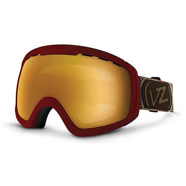 Маска для сноуборда Von Zipper Feenom Nls John Jackson Red/Copper Chrome линза для маски von zipper lens feenom nls yellow