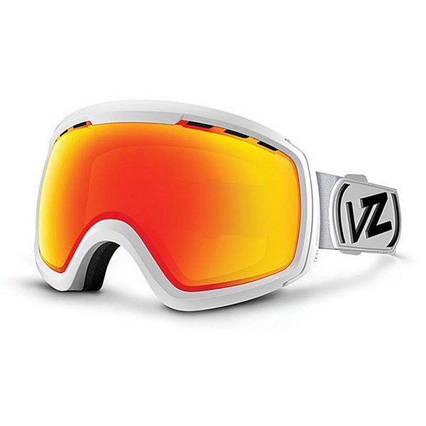 Маска для сноуборда Von Zipper Feenom Nls White Satin/Fire Chrome линза для маски von zipper lens feenom nls yellow