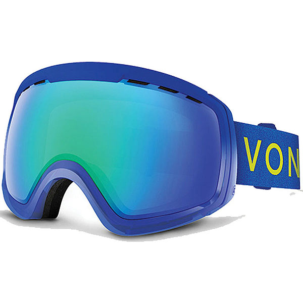 Маска для сноуборда Von Zipper Feenom Nls Mono Blue/Sky Chrome