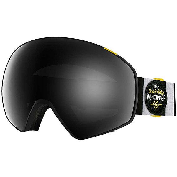 Маска для сноуборда Von Zipper Jetpack Black Satin/Black Chrome