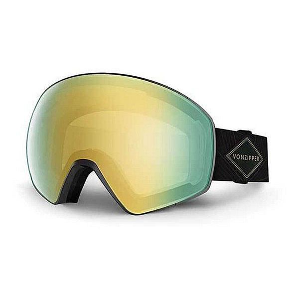 Маска для сноуборда Von Zipper Jetpack Black Gloss/Gold Chrome