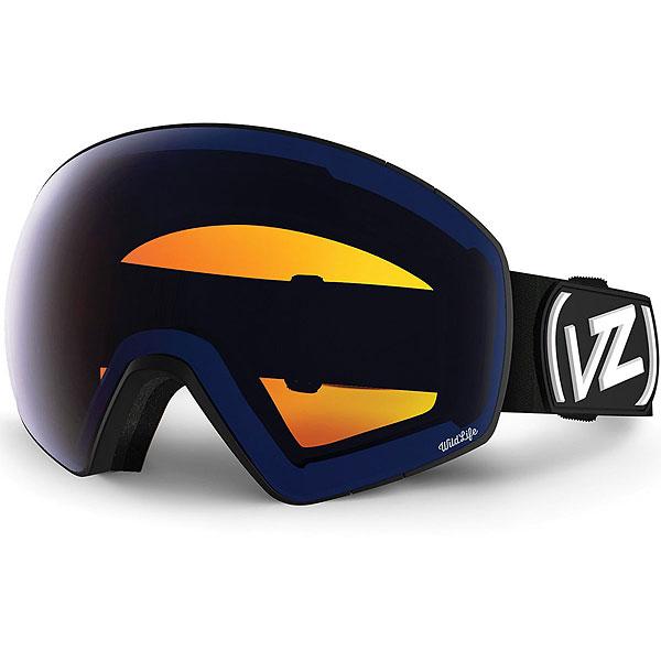 Маска для сноуборда Von Zipper Jetpack Black Satin/Wildlife Low Light