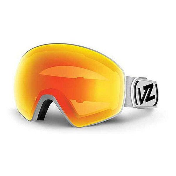 Маска для сноуборда Von Zipper Jetpack White Satin/Fire ChromeМаска, в которой современные технологии встречаются с наукой. Она учитывает все факторы зимней погоды!Технические характеристики: Эргономичная оправа из термополиуретана.100% защита от ультрафиолетовых лучей.Объемная двойная сферическая линза из поликарбоната.Максимальное периферийное зрение.Система смены линзы 4play.Покрытие против запотевания Anti-Fog.Тройной слой пены и слой флиса.Двойной регулируемый ремень.Маска совместима со шлемом.Чехол из микрофибры.<br><br>Цвет: белый<br>Тип: Маска для сноуборда<br>Возраст: Взрослый<br>Пол: Мужской