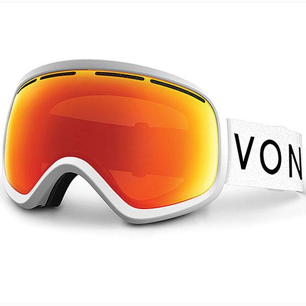 Маска для сноуборда Von Zipper Skylab Satin/Fire Chrome