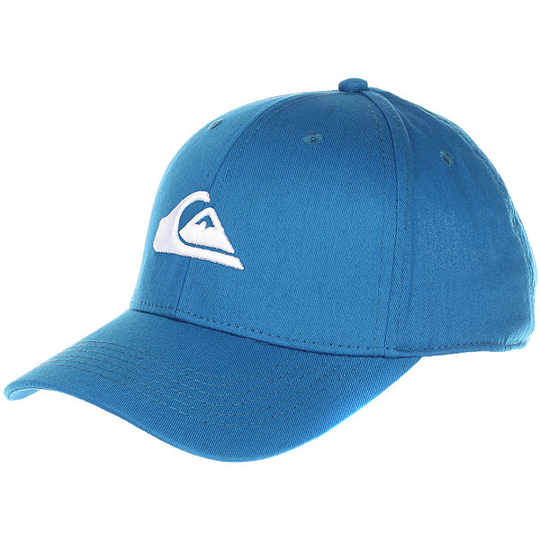 Бейсболка классическая Quiksilver Decades Real Teal<br><br>Цвет: синий<br>Тип: Бейсболка классическая<br>Возраст: Взрослый