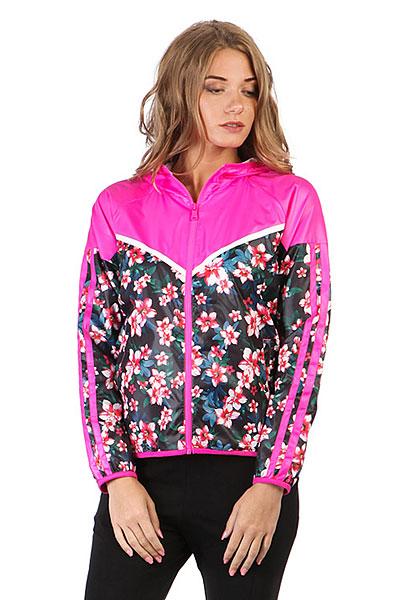 Ветровка женская Anta Розовая 86718643-1Женская ветровка из легкой нейлоновой ткани с цветочным принтом. Подходит для занятий спортом или на каждый день.ПРЕИМУЩЕСТВА: Легкая нейлоновая ткань.Прямой крой не сковывает движений.Капюшон.Боковые карманы вместят необходимые мелочи.Цветочный принт.<br><br>Цвет: розовый<br>Тип: Ветровка<br>Возраст: Взрослый<br>Пол: Женский
