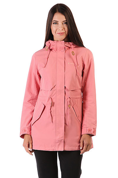 Куртка женская Anta Розовая 86736615-1Городская куртка-парка с водоотталкивающей технологией A-PROOF RAIN I.ПРЕИМУЩЕСТВА: Ткань с технологией A-PROOF RAIN I помогает противостоять дождю, поддерживает комфорт и сухость тела внутри.Подкладка.Удлиненный крой с разрезом рыбий хвост.Регулируемый капюшон на шнурках для плотного прилегания.Регулировка талии.Карманы для рук с клапаном.Застежка на молнию с ветрозащитным клапаном на липучках.<br><br>Цвет: розовый<br>Тип: Пуховик<br>Возраст: Взрослый<br>Пол: Женский