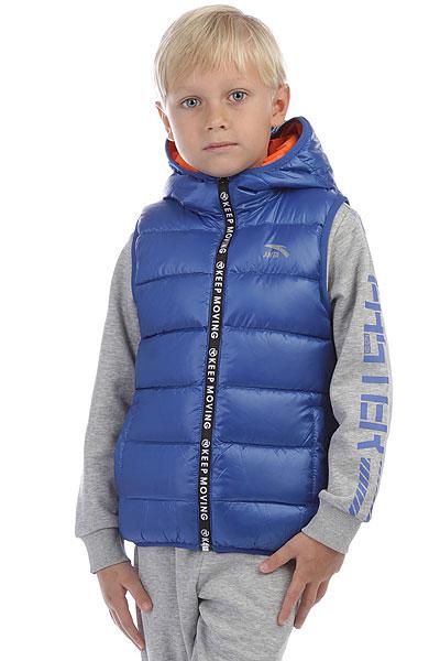 Жилетка детская Anta Синяя W35747901-2Стеганый жилет с пуховым утеплителем и капюшоном. Подходит для спорта, активного отдыха и на каждый день.ПРЕИМУЩЕСТВА: Прочная нейлоновая ткань защитит от ветра и влаги.Прямой крой не сковывает движений.Карманы вместят необходимые вещи.Капюшон согреет в прохладную погоду.Стеганый дизайн подчеркнет спортивный стиль.<br><br>Цвет: синий<br>Тип: Жилетка<br>Возраст: Детский