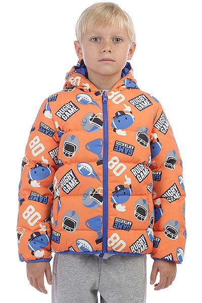 Пуховик детский Anta Оранжевый W35749950-3Теплая стеганая куртка с капюшоном и карманами для спорта и активного отдыха.ПРЕИМУЩЕСТВА: Прочный полиэстер.Стеганый дизайн.Фиксированный капюшон защитит от снега, дождя и ветра.Удобные карманы для рук.Застежка на молнию.<br><br>Цвет: оранжевый<br>Тип: Пуховик<br>Возраст: Детский