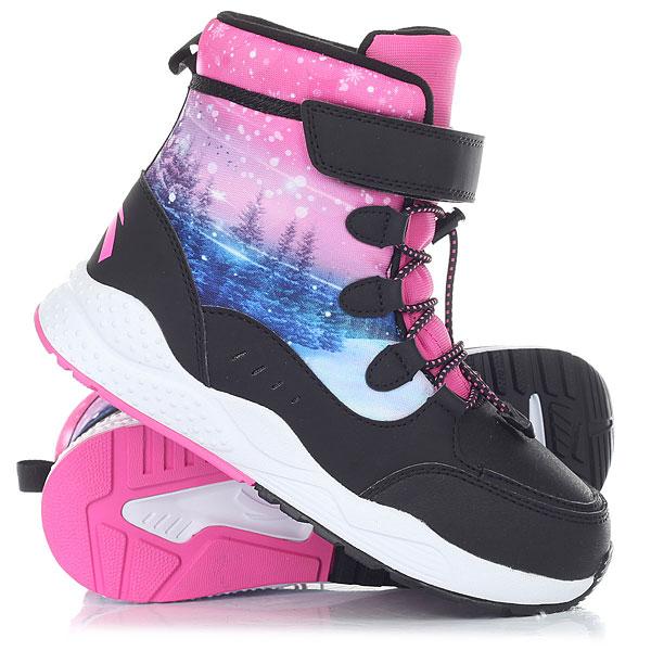Ботинки зимние детские Anta W32746908-1 Black nordway ботинки для беговых лыж детские nordway alta 75 mm