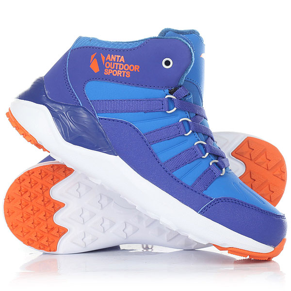 Ботинки зимние детские Anta W31746905-1 Blue nordway ботинки для беговых лыж детские nordway alta 75 mm