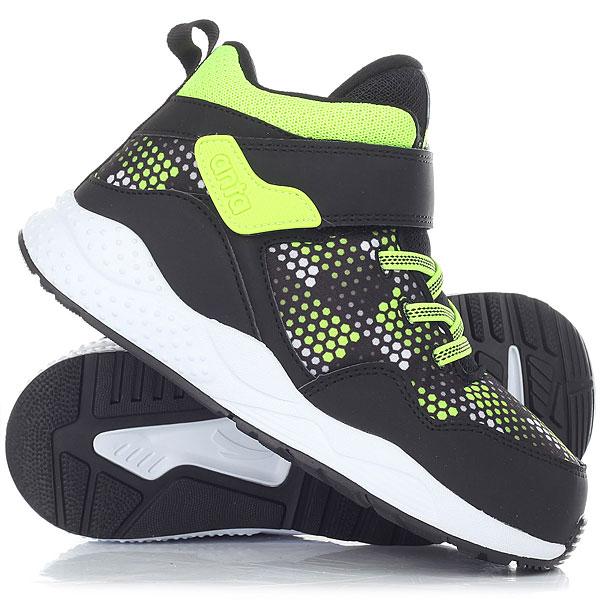 Ботинки зимние детские Anta W31749941-1 BlackУютные детские ботинки с теплой подкладкой из искусственного меха. Яркие и удобные ботинки на каждый день.ПРЕИМУЩЕСТВА: Верх из искусственной кожи и текстиля.Теплая подкладка из искусственного меха.Быстрая застежка на липучке.Рифленая подошва из EVA и резины.<br><br>Цвет: черный,зеленый,белый<br>Тип: Ботинки зимние<br>Возраст: Детский