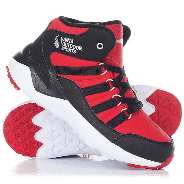 Ботинки зимние детские Anta W31746905-2 Black nordway ботинки для беговых лыж детские nordway alta 75 mm