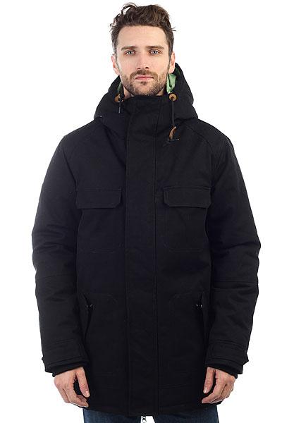 Куртка парка Запорожец Triodin BlackЗимняя куртка российского бренда Запорожец, выполненная из хлопковой ткани с тёплым наполнителем из полиэстера. Куртка обладает традиционным силуэтом с прямым кроем, удобным капюшоном и застёжкой на молнии с защитным клапаном. Главной особенностью модели является отстёгивающаяся подкладка, которую можно использовать как отдельную куртку. Четыре кармана спереди и один карман внутри. Куртка представлена в однотонной расцветке, украшенной лаконичным брендингом и контрастной подкладкой.Характеристики:Хлопковая ткань. Теплый наполнитель. Удобный капюшон. Отстегивающаяся подкладка. Пять карманов.Однотонная расцветка.<br><br>Цвет: черный<br>Тип: Куртка парка<br>Возраст: Взрослый<br>Пол: Мужской