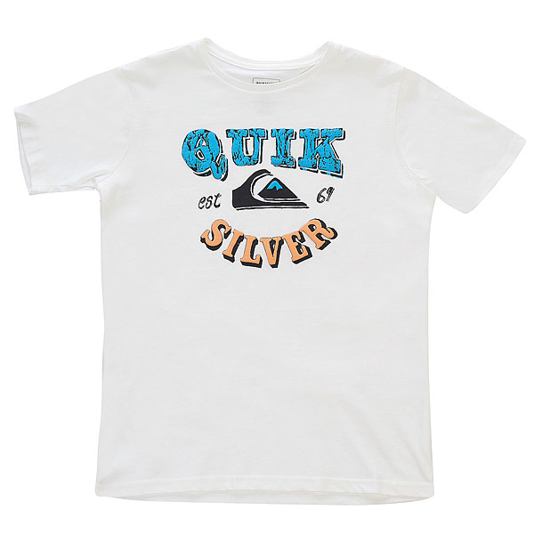 Футболка детская Quiksilver Pahu Pia Youth White