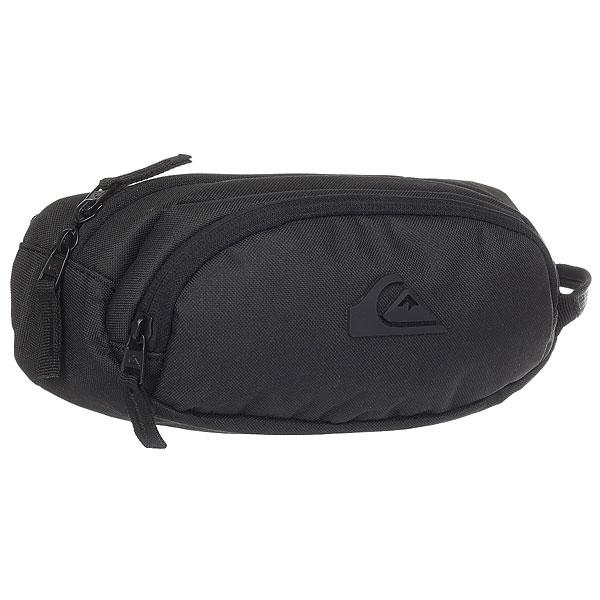 Сумка поясная Quiksilver Jungler Black сумка дорожная quiksilver horizon nasturticm everyday