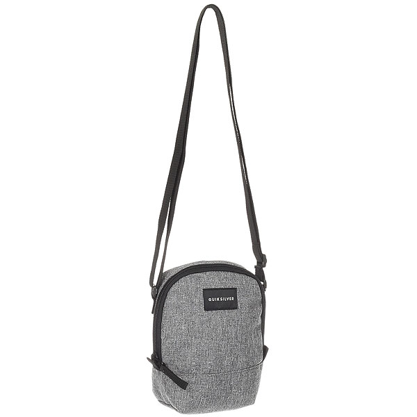 Сумка для документов Quiksilver Black Dies Light Grey Heather