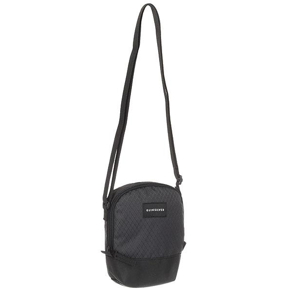 Сумка для документов Quiksilver Black Dies TarmacНебольшая мужская заплечная сумка Black Dies от Quiksilver.Характеристики:Полиэстер 600D. Одно основное отделение с клапаном. Регулируемая утяжка. Логотип Quiksilver.<br><br>Цвет: черный<br>Тип: Сумка для документов<br>Возраст: Взрослый<br>Пол: Мужской