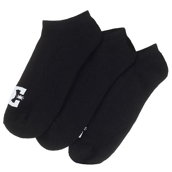 Носки низкие DC Dc Ankle 3p Black<br><br>Цвет: черный<br>Тип: Носки низкие<br>Возраст: Взрослый<br>Пол: Мужской