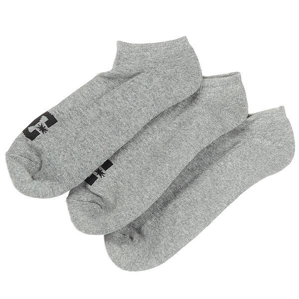Носки низкие DC Dc Ankle 3p Grey толстовка свитшот dc rebel block dark indigo