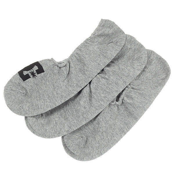 Носки низкие DC Dc Liner 3p Grey