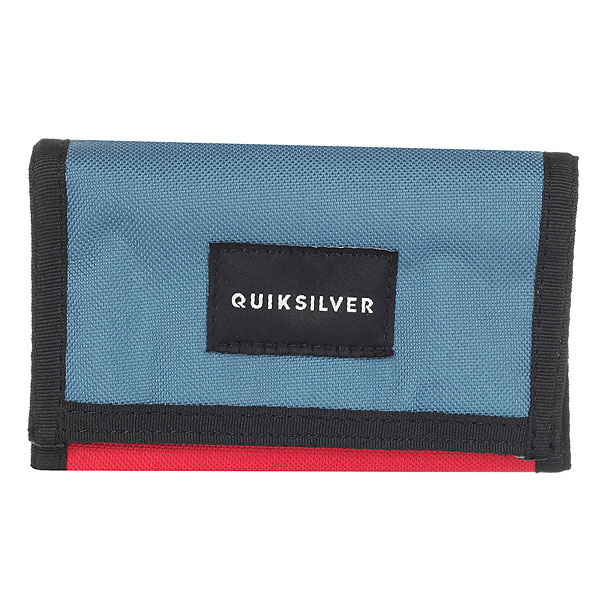 Кошелек Quiksilver Theeverydaily Quik Red кошелек quiksilver theeverydaily black thunderbolts