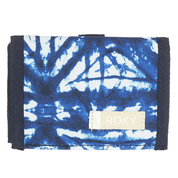Кошелек Roxy Small Beach Dress Blues Geometri<br><br>Цвет: синий,белый<br>Тип: Кошелек<br>Возраст: Взрослый
