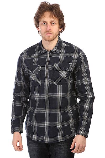Рубашка в клетку Carhartt WIP Portland Shirt Navy трамплины для прыжков в воду