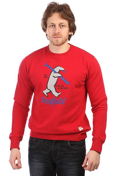 Свитшот Penfield Ski Bear Red wessi пиджак wessi c 52910 3 22 navy