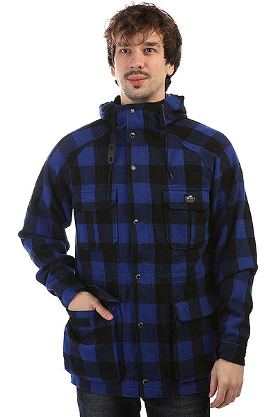 Куртка Penfield Kasson Buffalo Plaid Jacket Blue куртка парка penfield paxton long insulated snorkle jacket lichen