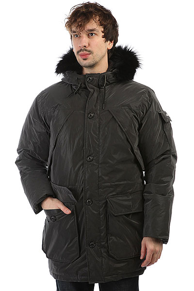 Пуховик Penfield Hoosac Reflective Jacket Black куртка парка женская penfield hoosac w parka faux fur navy