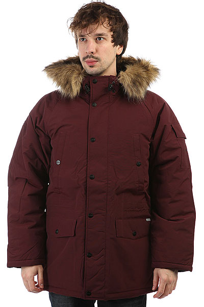 Куртка зимняя Carhartt WIP Anchorage Parka Amarone/Black scubapro anchorage trilaminate drysuit