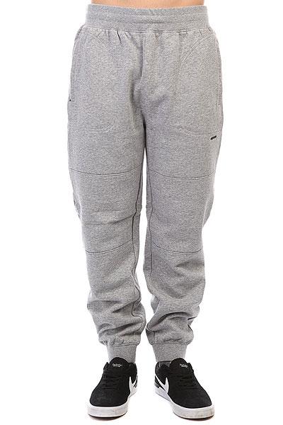 Штаны спортивные Undefeated Sweatpant Grey Heather толстовка кенгуру quiksilver comfortplacehoo light grey heather