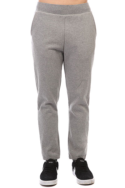 Штаны спортивные Poler Bag It Fleece Pants Gray Heather poler pубашка