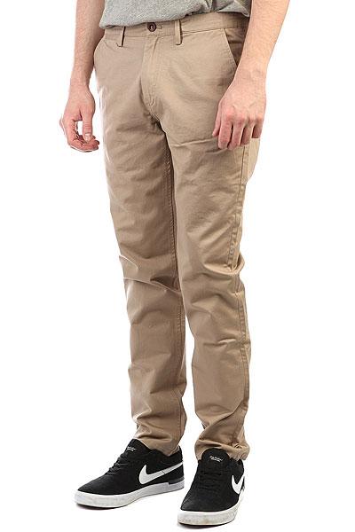 Штаны прямые Fred Perry Classic Twill Chino Coyote Brown<br><br>Цвет: Светло-коричневый<br>Тип: Штаны прямые<br>Возраст: Взрослый<br>Пол: Мужской
