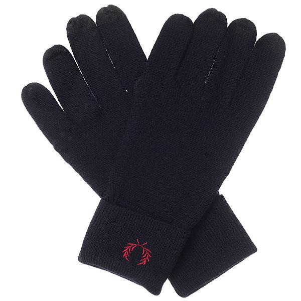 Перчатки Fred Perry Merino Wool Gloves Navy футболка brubeck wool merino l black ls10510 ls11920 мужская