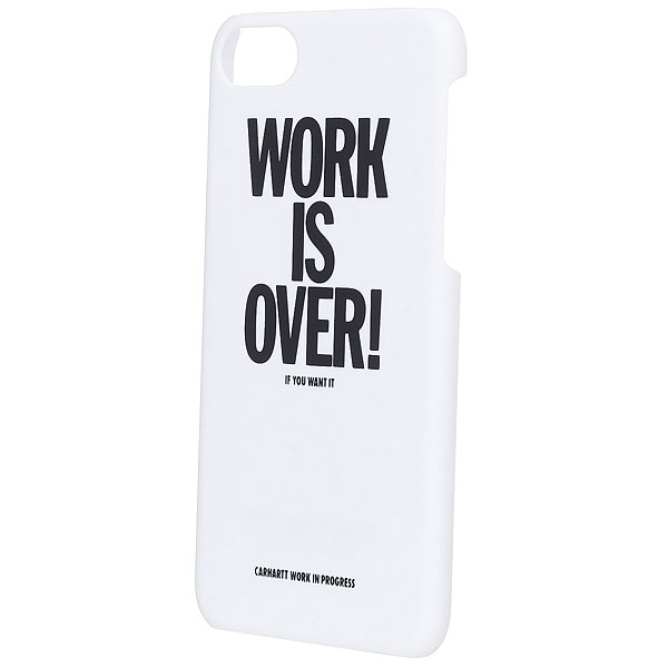 Чехол для Iphone 6 Carhartt WIP Work Is Over Iphone Hardcase White