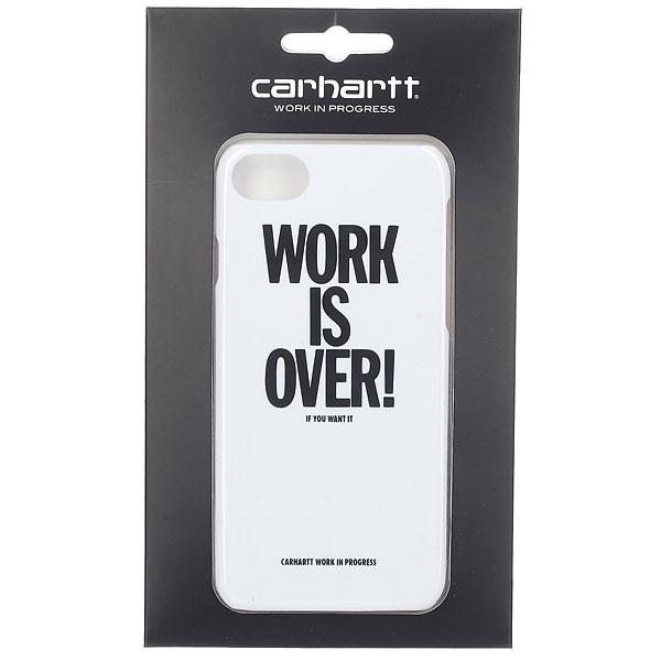 Чехол для Iphone 6 Carhartt WIP Work Is Over Iphone Hardcase White