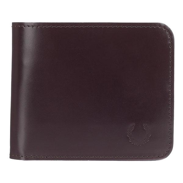 цена Кошелек Fred Perry Leather Billfold Wallet Brown онлайн в 2017 году