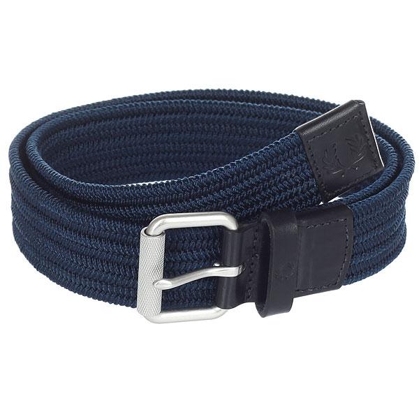 Ремень Fred Perry Plain Woven Cord Belt Blue<br><br>Цвет: синий<br>Тип: Ремень<br>Возраст: Взрослый<br>Пол: Мужской