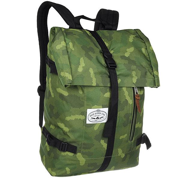 Рюкзак туристический Poler Classic Rolltop Green Furry Camo<br><br>Цвет: зеленый<br>Тип: Рюкзак туристический<br>Возраст: Взрослый<br>Пол: Мужской