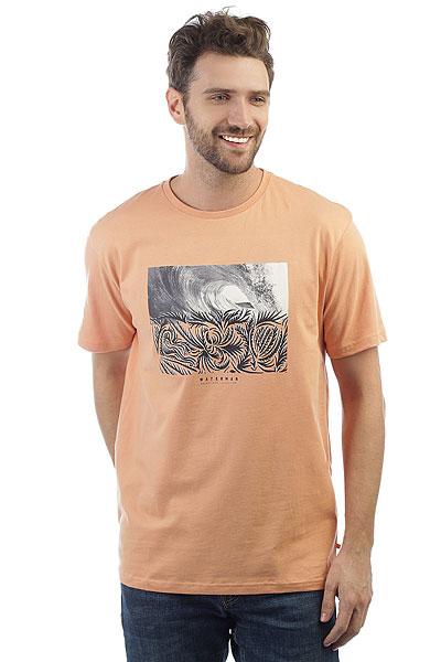 Футболка Quiksilver Nokoloko Dusty Coral<br><br>Цвет: оранжевый<br>Тип: Футболка<br>Возраст: Взрослый<br>Пол: Мужской