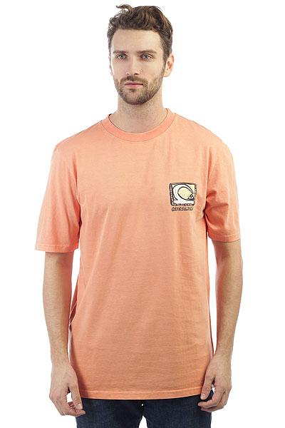 Футболка Quiksilver Denswayss Cadmium Orange кошелек quiksilver theeverydaily cadmium orange