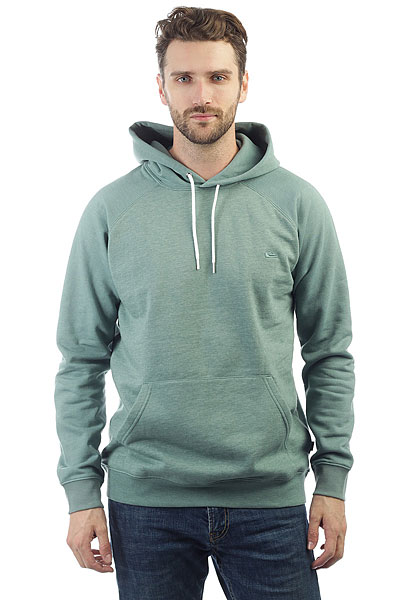 Толстовка кенгуру Quiksilver Everyday Hood Trellis Heather quiksilver quiksilver every checkss you wvtp everyday check dark