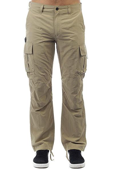 Штаны прямые Quiksilver Skipperpant Twill<br><br>Цвет: бежевый<br>Тип: Штаны прямые<br>Возраст: Взрослый<br>Пол: Мужской