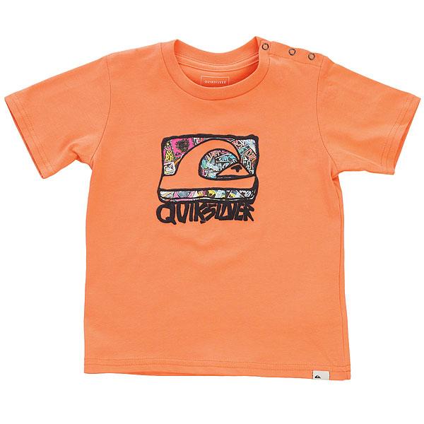 Футболка детская Quiksilver Wemi Baby I Cadmium Orange