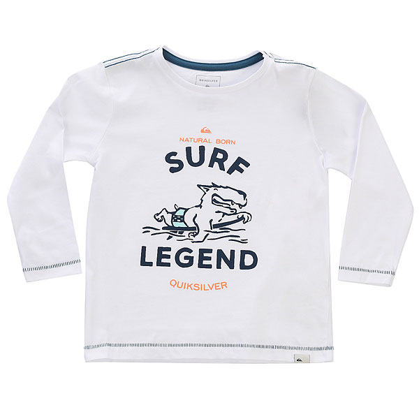 Лонгслив детская Quiksilver Surf Legend Boy White